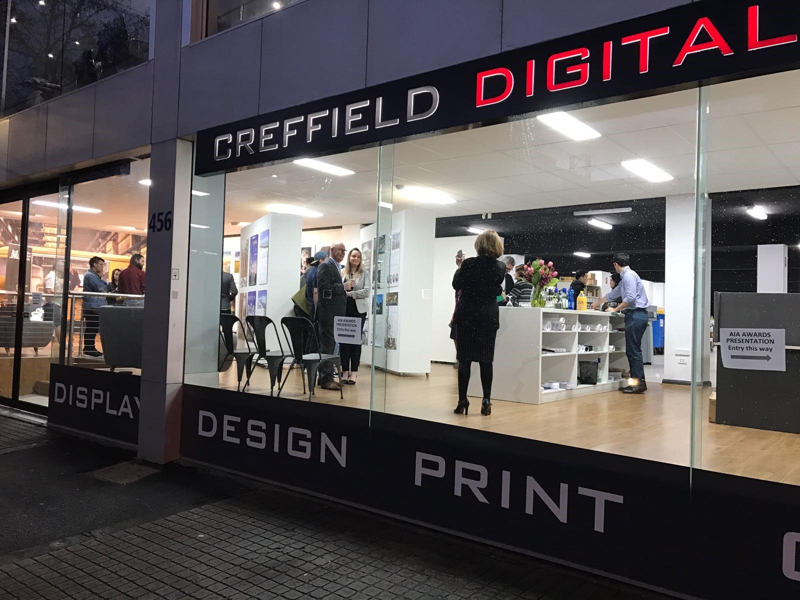 Creffield Exhibition space