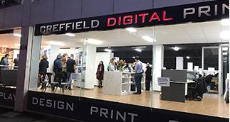 Creffield Digital print